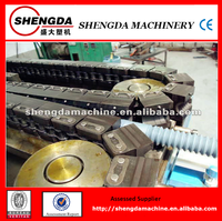 popular plastic single-wall corrugated pipe manufacturing equipment/production line/cable protection pipe making machine
