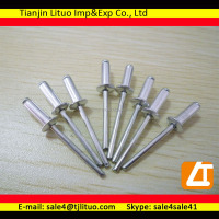 Different aluminium blind rivets size steel blind rivets close/open type blind rivets