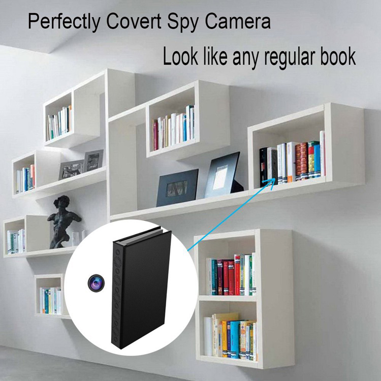HD 1080P Room Office Camera Book Hidden Camera Motion Video Book IR DV Security
