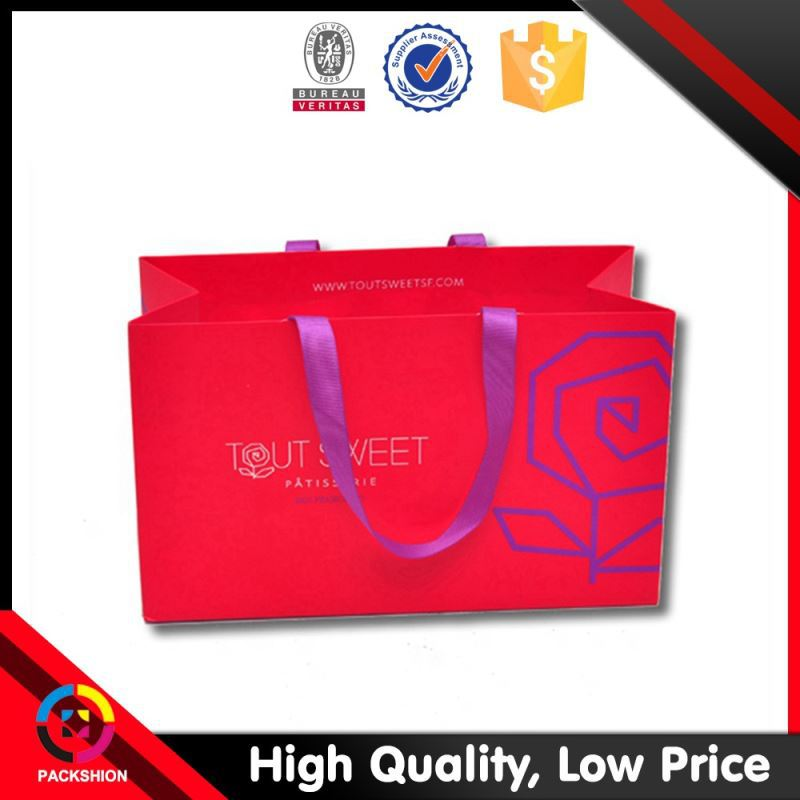 Grab Your Own Design Oem Service Foldable Art Paper Wild Craft Bags