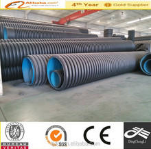 double wall hdpe pipes for telecommunication cables and power wires