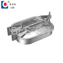 Food Grade Stainless Steel Rectangular Manhole Covers