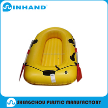Top quality pvc yellow inflatable floating boat/fishing rafting boat inflatable