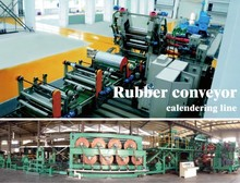rubber conveyor belt making machine of the all line