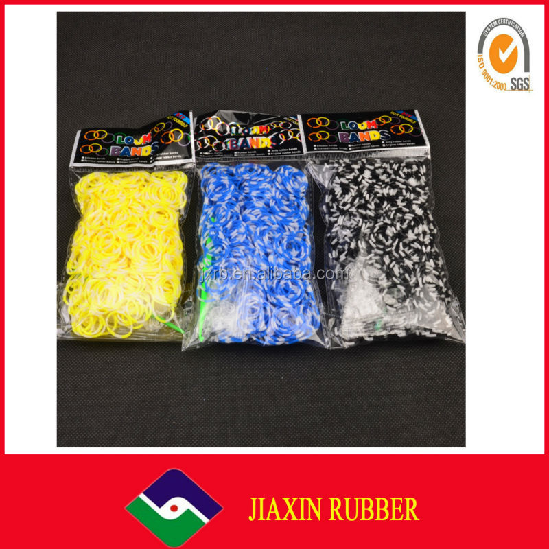 Multicolor wholesale unbreakable elastic silicone rubber band