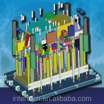 Custom plastic injection mold, Mold flow analysis service available1.jpg