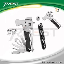 Stainless Steel Practical Use Multi Tool Hammer with Tools Bit