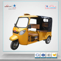 175CC Gasoline Engine CNG Cylinder Passenger Three Wheeler Hot Sales in Bangladesh