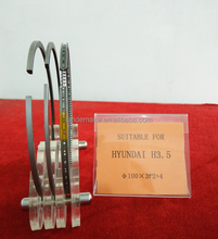 OEM auto engine parts Piston Ring for HYUNDAI H3.5