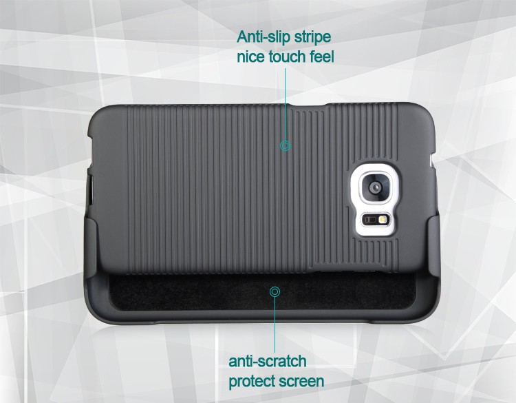 High quality holster combo case for samsung galaxy s7 edge
