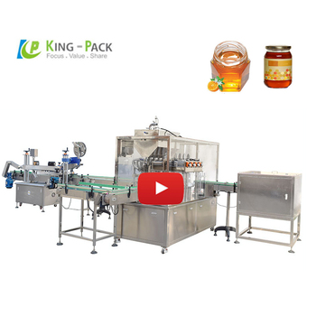 Automatic  honey filler packing machine