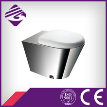 Bathroom stainless steel prison wc toilet bowl(JN49111)