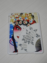 With oil/matte surface sublimation with aluminum sheet can be customised cover for iPad mini case