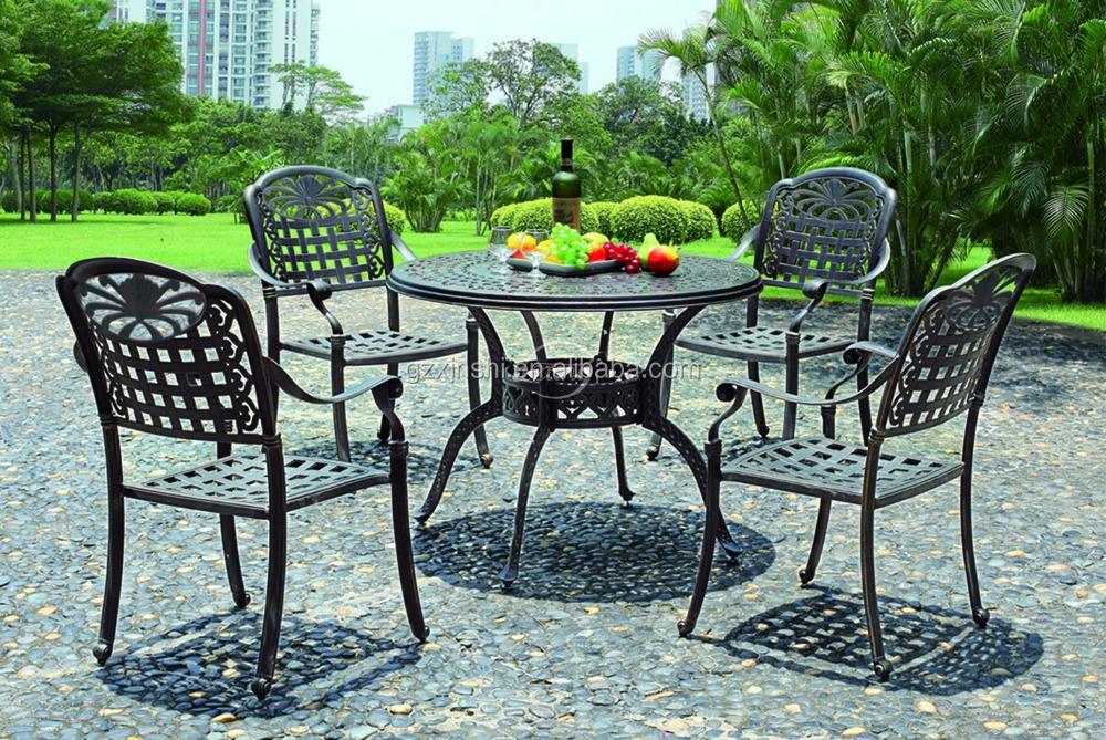 European Powder Coating Cast Aluminum Outdoor Garden Metal Furniture Leisure