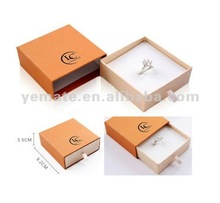 2012 drawer-like new design wholesale ring boxes, jewelry box hardware with cushion