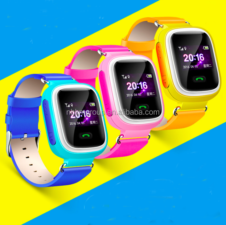 Hot Sale Bluetooth Tracker Android GSM GPS Kids Security Smart Watch