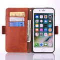 Fashion Jeans wallet case for iPhone 6 6 Plus, Credit card jeans case for iPhone 7 7 Plus