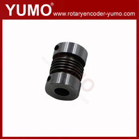 BB 10x10 D22 L32 shaft encoder motor coupler type coupling shaft flexible spring encoder trailer coupling lock