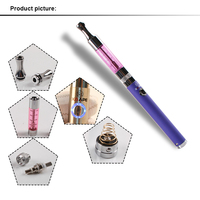 Super Slim Electric Vaporizer Pipe S1 Vapor Puffs E Cigarette