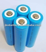 High capacity 18650 Li-ion battery 3.7V 1200mAh for remote control with PCM