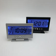 High quality LCD table clock / Weather forecast alarm clock / weather multifunction lcd clock