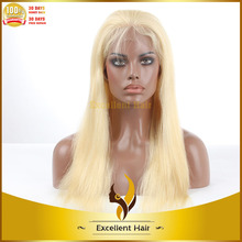 silk straight wave modern female flashing silk straight lighted hair blonde 613 lace wig