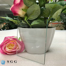 China cut to size 4mm 5mm 6mm clear float glass window glass panels
