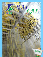 plastic pp Yellow woven bag for garbage and grain