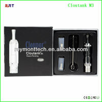 2014 best seller ego dry herb atomizer vapor pipes vaporizer herb cloutank m3