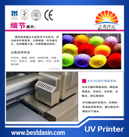 A2 Size 6 Color small format uv flatbed printer for ID card, Phone Case,Pen, CD, Leather,Metal,Wood ect