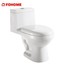 Modern style excellent quality tube rimless siphonic one piece wc toilet
