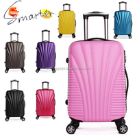 abs spinner polycarbonate trolley luggage