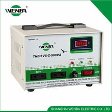 Tnd-Z-500Va Electron Rrelay Type Avr Series Large Power Automatic Voltage Stabilize Regulator