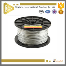 Kingtale 1X7 2.7mm Galvanized Steel Cable Strand For Catenary Wire
