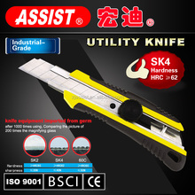utility knives and utility cutters with steel blade rubber cutting hot knife