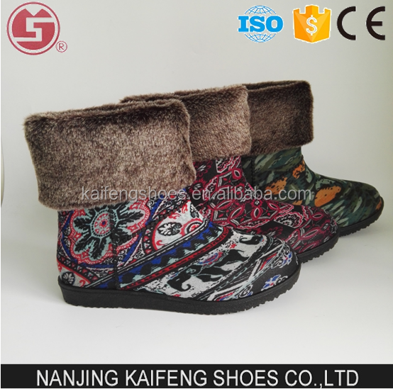 Young Women Warm Snow Boots Anti-slip