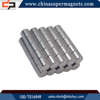 Hot sale Customized Industrial strong cylinder neo magnets/ndfeb magnet with different dimension