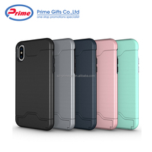 High Quality Cell Phone Case Credit Card Holder Back Cover for iPhone 8