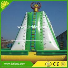 Children park inflatable water rock climbing wall for sale