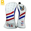 Wholesale newest USA eagle golf club driver head cover with logo