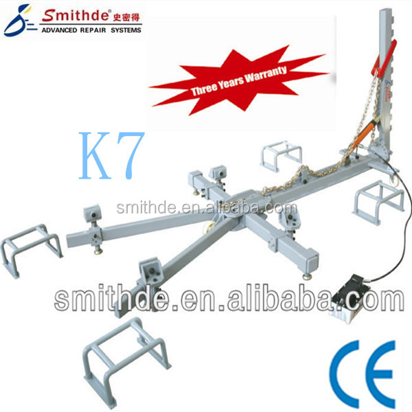 China Manufacturer K7 auto repair work bench car body repair tool with CE