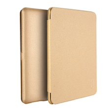 Lenuo high quality soft PU leather flip cover case for Kindle paperwhite 1/2/3