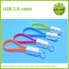 keychain 2.0 usb to micro cable from factory