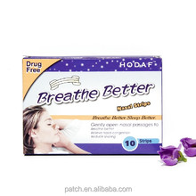 Breathe Right Advanced Nasal Strips Clear Strips 4point technology