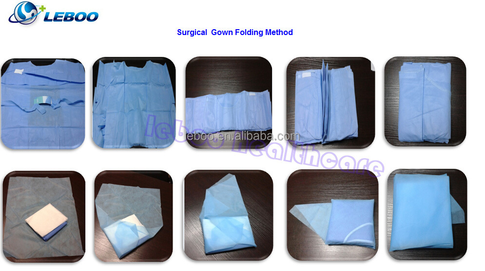 ISO/CE disposable sterile surgical gown