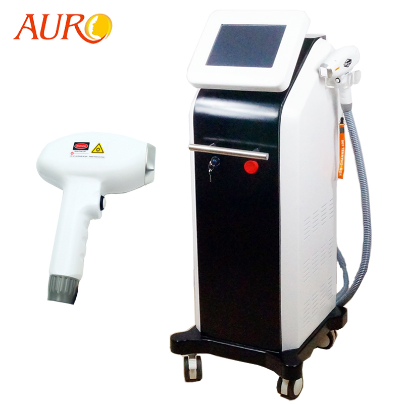 Au-808A 808 Diode Laser Hair Removal Professional Permanently Hair Remover