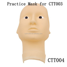 Washable Soft Practice Mask For Permanent Makeup Practice Mannequin Head