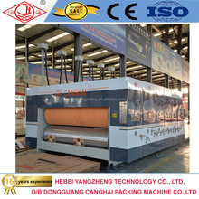 Corrugated cardboard carton packaging machinery die cutting machine