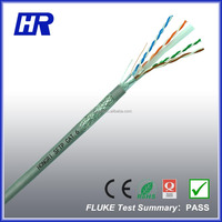 cat.6 sftp cable CCA PVC Jacket