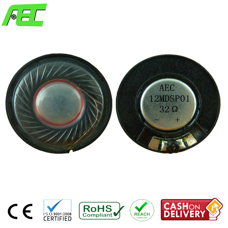wholesale 30mm waterproof <strong>speaker</strong> driver 0.02w 32 ohm mini mylar <strong>speaker</strong>